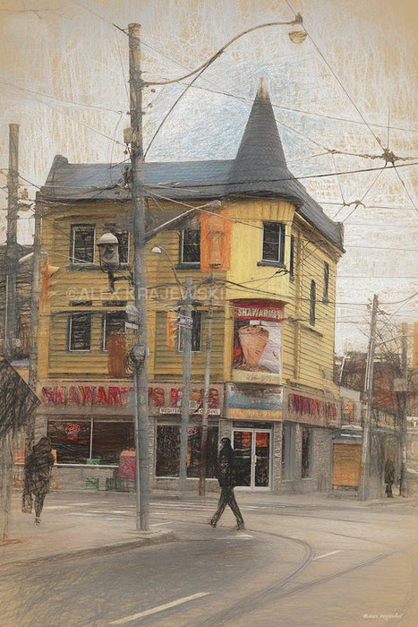 Queen East & Church - Toronto, ON - Artfest Ontario - Alex Krajewski Gallery - Paintings -Artwork - Sculpture