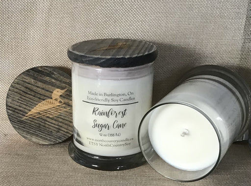 Rainforest Sugar Cane, Cotton or Paper Core Wick - Artfest Ontario - North Country Candle - Furniture & Houseware