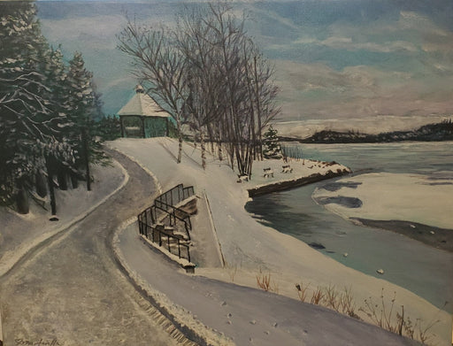 Ramsey Lake - Artfest Ontario - Art & Soul by Carmen Martorella - Paintings