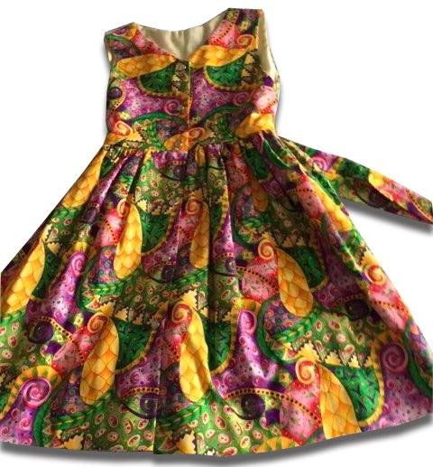 Razzle Dazzle Summer Dress - Artfest Ontario - Muffin Mouse Creations - Clothing & Accessories