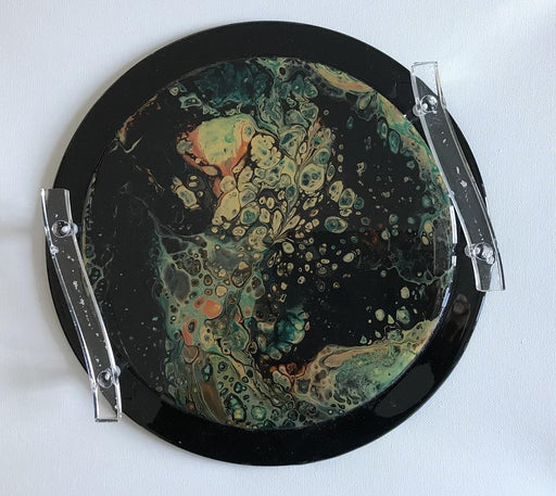 Record Serving Trays - Artfest Ontario - Sue Caron - Paintings, Artwork & Sculpture