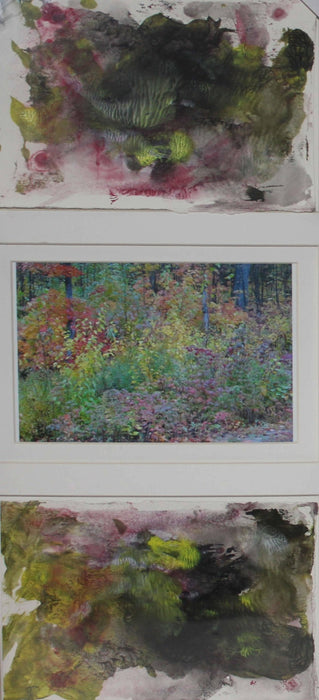 Red Forest - Artfest Ontario - Sew Fancy Paints -