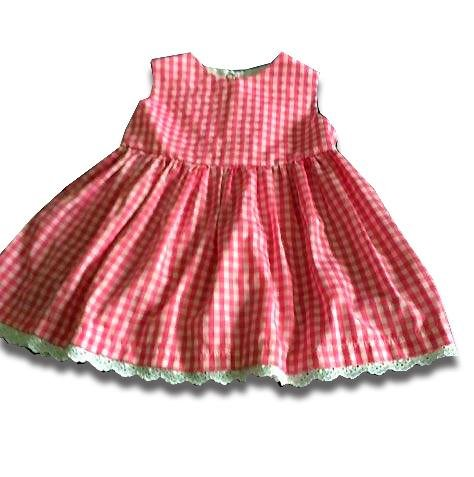 Red Gingham Picnic Dress - Artfest Ontario - Muffin Mouse Creations - Clothing & Accessories
