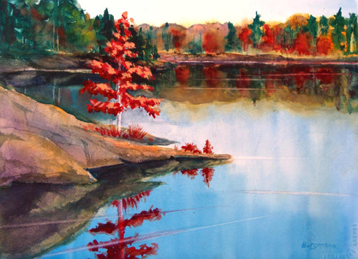 Red Maple - Artfest Ontario - PetrArts - Paintings -Artwork - Sculpture