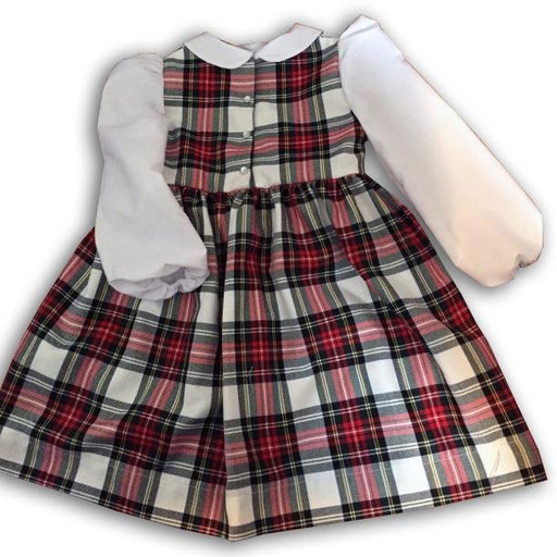 Red Tartan Dress - Artfest Ontario - Muffin Mouse Creations - Clothing & Accessories