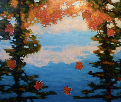 Réflexions Automnale (Autumn Reflections) - Artfest Ontario - Gilles Côté - Paintings -Artwork - Sculpture