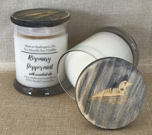 Rosemary Peppermint with Essential Oils - Artfest Ontario - North Country Candle - Furniture & Houseware