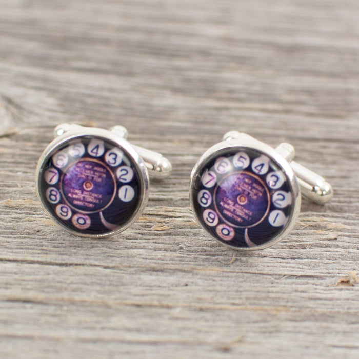 Rotary Dial Cuff links - Artfest Ontario - Lisa Young Design - Cuff Links