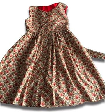 Royal Hearts Summer Dress - Artfest Ontario - Muffin Mouse Creations - Clothing & Accessories
