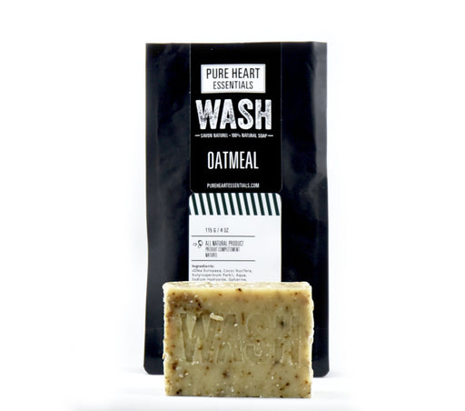 SALE!!! WASH – OATMEAL SOAPS 4 FOR $23 - Artfest Ontario - Pure Heart Essentials - wash