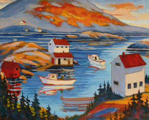 Salt Harbour, Northwest Territories - Artfest Ontario - Gilles Côté - Paintings -Artwork - Sculpture