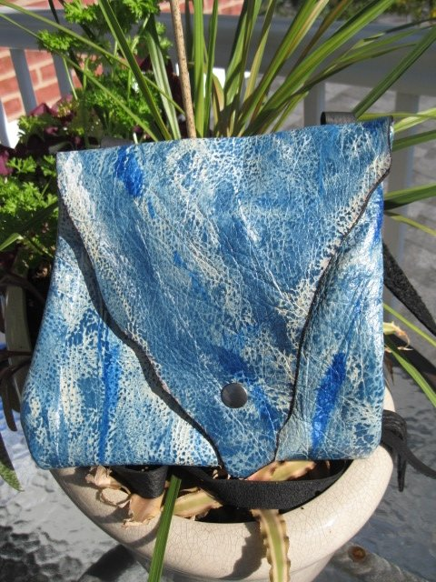 Sculpt print Wind and Water bag - Artfest Ontario - Gu krea..shun - Bags