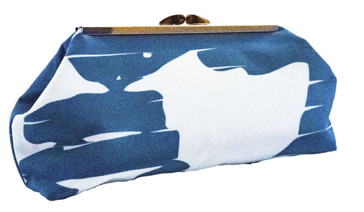 Shadow Clutch (Blue/White) - Artfest Ontario - Inunoo - Clutches