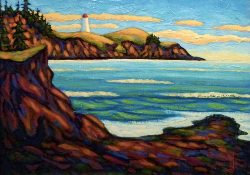 Shallowtail Lighthouse - Artfest Ontario - Gilles Côté - Paintings -Artwork - Sculpture