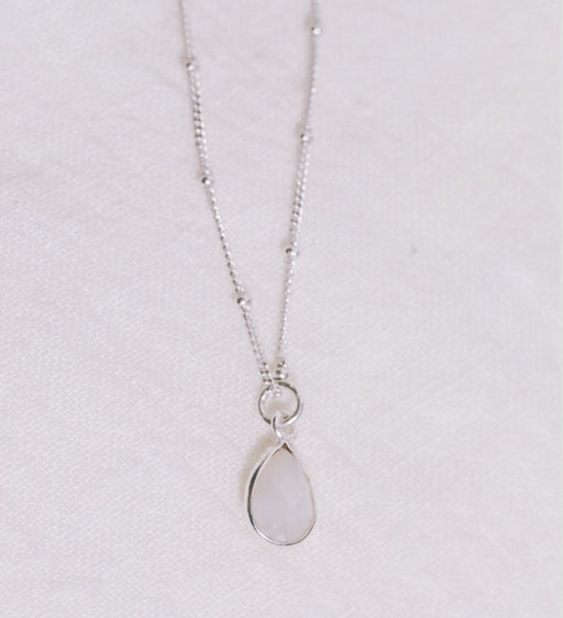 Silver Moonstone Pendant - Artfest Ontario - Savannah Jones Jewellery - Jewelry & Accessories