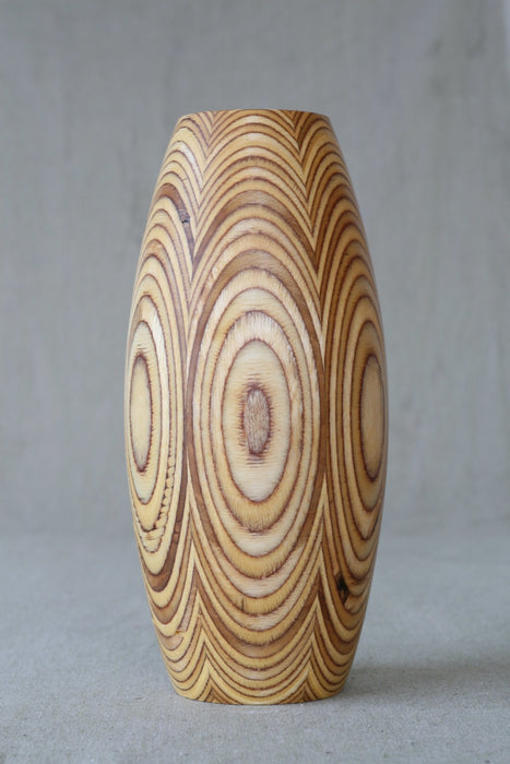 SixFace Sealed Wooden Vase - Artfest Ontario - Merganzer Furniture - Furniture & Houseware