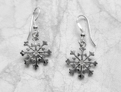 Snowflakes Earrings - Artfest Ontario - Delicate Touch Jewellery - Fine Jewellery