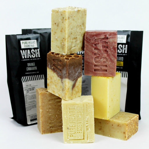 SOAP SALE!!! ANY 4 FOR $29 (EXCLUDING SHAMPOO BARS) - Artfest Ontario - Pure Heart Essentials - wash