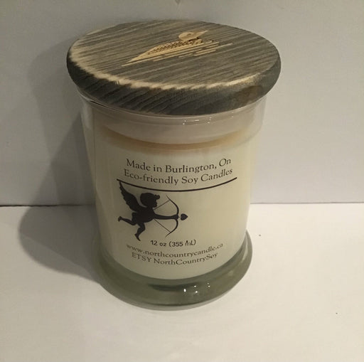 Soy Wax Candle - Valentines Day - Chocolate Chip Cookie Dough - Artfest Ontario - North Country Candle - Furniture & Houseware