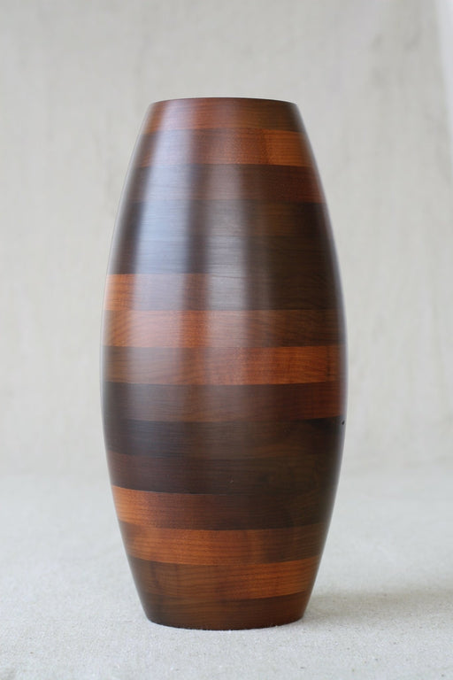 Spiral Sealed Wooden Vase - Artfest Ontario - Merganzer Furniture - Furniture & Houseware