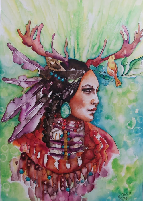 Spirit of the Forest - Artfest Ontario - Halina Stopyra - Paintings, Artwork & Sculpture