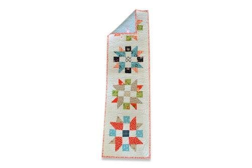 Star Table Runner - Artfest Ontario - EMA Design Treasures - Table runner