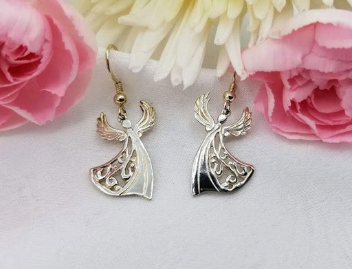 Sterling Angel Earrings - Artfest Ontario - Delicate Touch Jewellery - Fine Jewellery