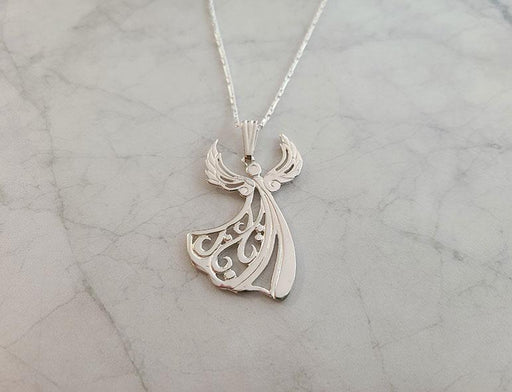 Sterling Angel Necklace - Artfest Ontario - Delicate Touch Jewellery - Fine Jewellery