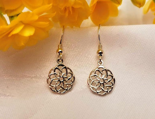 Sterling Celtic Inspiration Dangle Earrings - Artfest Ontario - Delicate Touch Jewellery - Fine Jewellery