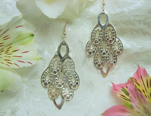 Sterling Chandelier Earrings - Artfest Ontario - Delicate Touch Jewellery - Fine Jewellery