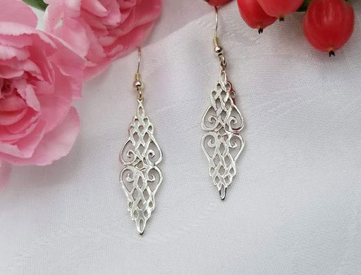 Sterling Double Talia Earrings - Artfest Ontario - Delicate Touch Jewellery - Fine Jewellery