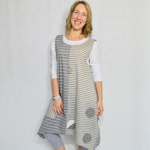 STRIPE TUNIC - Artfest Ontario - OlgaG Knits - Clothing & Accessories