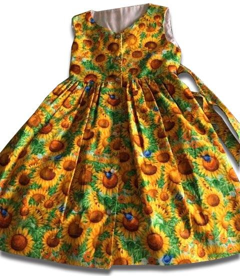 Sunflower Garden Dress - Artfest Ontario - Muffin Mouse Creations - Clothing & Accessories