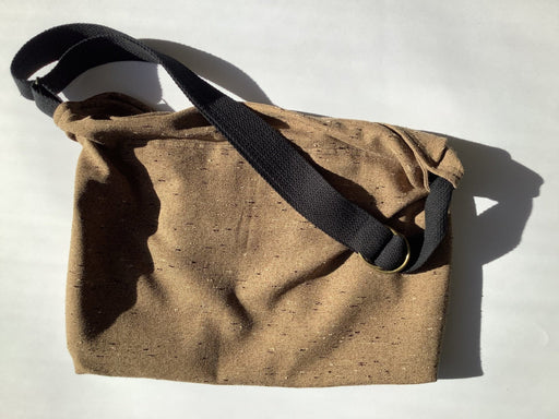 Tan Crossbody Hobo Bag #1895 - Artfest Ontario - Revoila Handbags - Clothing & Accessories