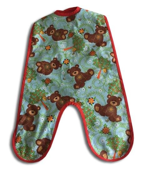Teddy Bear Toddlers Mess Bib - Artfest Ontario - Muffin Mouse Creations - Clothing & Accessories