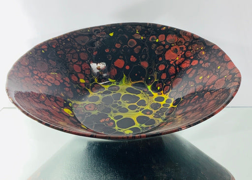 The Red Lava Series - Artfest Ontario - Out of Ruins - Glass
