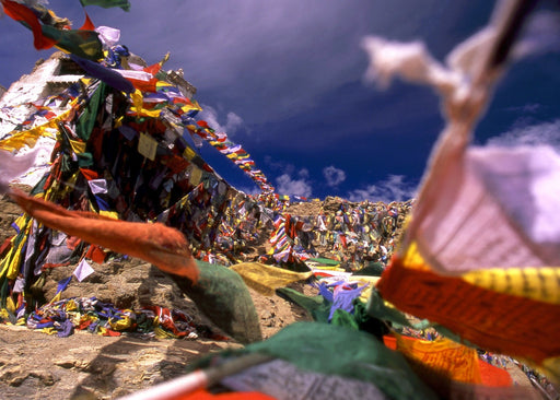 Tibetan Prayer Flags – Ladakh I - Artfest Ontario - Kleno Photography - Photographic Art