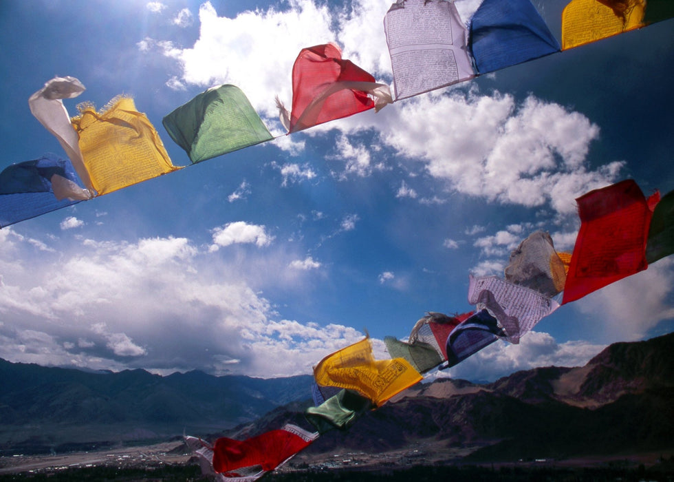 Tibetan Prayer Flags – Ladakh II - Artfest Ontario - Kleno Photography - Photographic Art