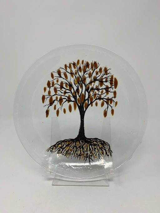Tree of Life Dish - Artfest Ontario - Shardz Art Glass - Glass Work