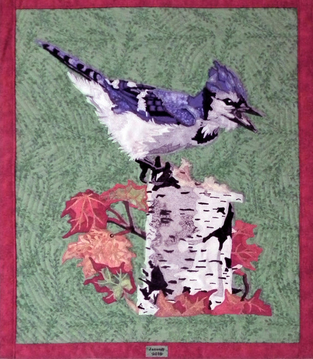 True North, Strong and Free Quilted Portrait - Artfest Ontario - Tamara's Treasured Shop - Home Decor