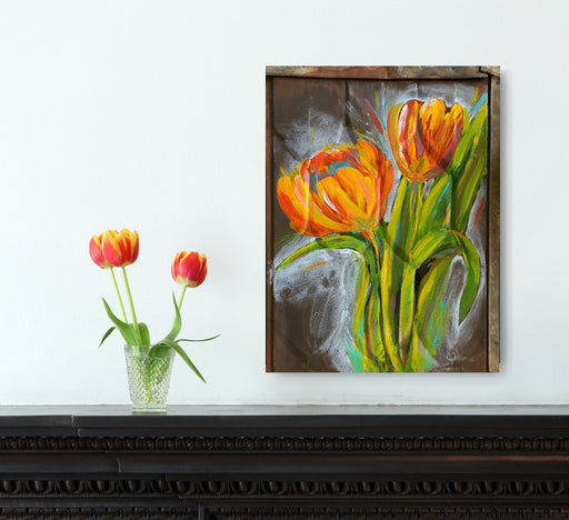 Tulips - Artfest Ontario - Jenn Keski Art - Paintings -Artwork - Sculpture
