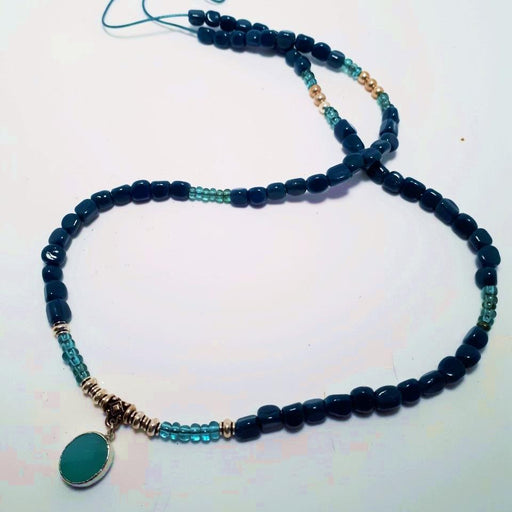 Turquoise Night - Artfest Ontario - Moosonee Puppy Rescue - Jewelry & Accessories