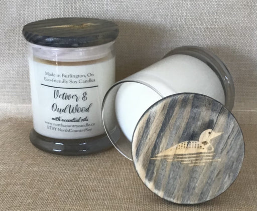 Vetiver & Oud Wood with Vetiver Essential Oil - Artfest Ontario - North Country Candle - Furniture & Houseware