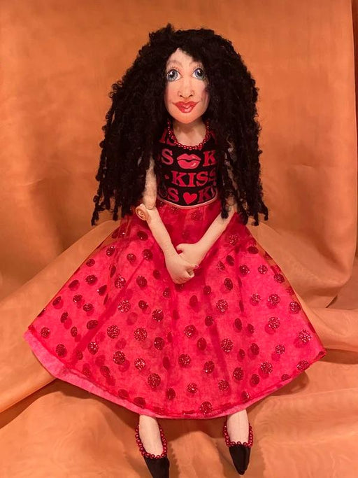 Victoria Art Doll - Artfest Ontario - Tamara's Treasured Shop - Home Decor
