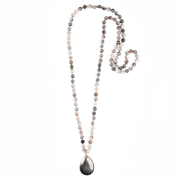 VITALITY Mala Necklace - Aiyana Jewelry - Artfest Ontario - Aiyana Jewelry - Jewelry & Accessories