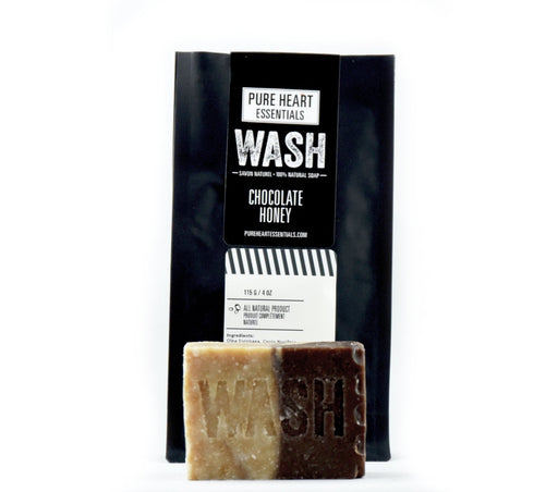 WASH – CHOCOLATE/HONEY SOAP - Artfest Ontario - Pure Heart Essentials - wash