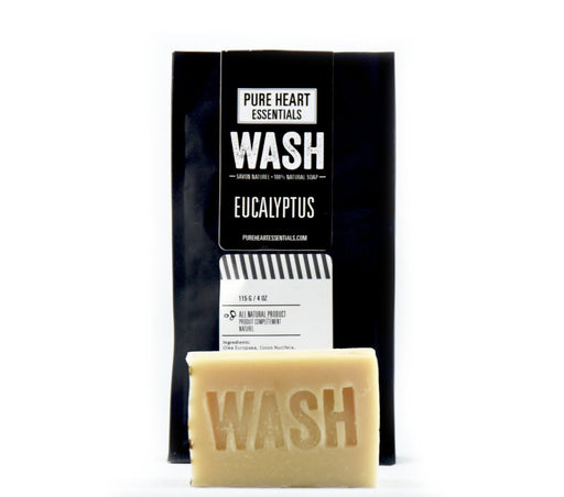 WASH – EUCALYPTUS SOAP (VEGAN) - Artfest Ontario - Pure Heart Essentials - wash