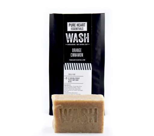 WASH – ORANGE/CINNAMON SOAP (VEGAN) - Artfest Ontario - Pure Heart Essentials - wash