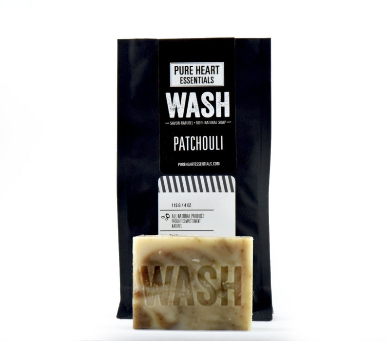 WASH – PATCHOULI (VEGAN) - Artfest Ontario - Pure Heart Essentials - wash