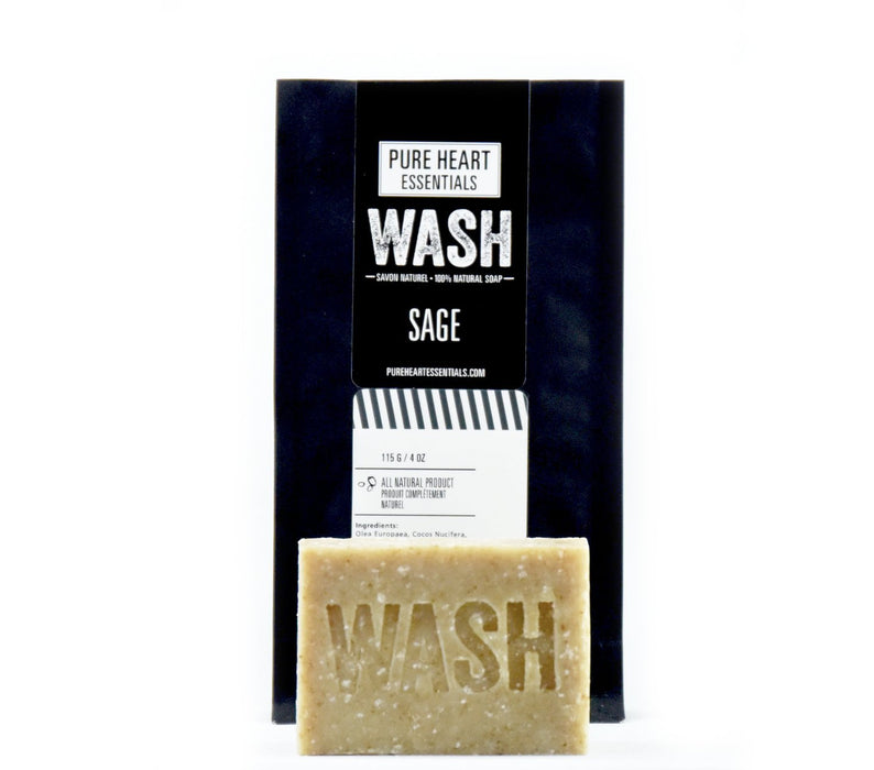 WASH – SAGE (VEGAN) - Artfest Ontario - Pure Heart Essentials - wash